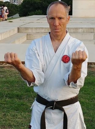 Ziv Peer, high-tech - black belt 3rd dan (training for 11 years)