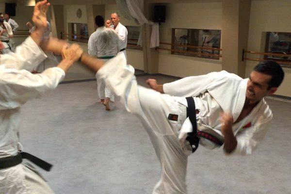 קראטה -- קרב אימון